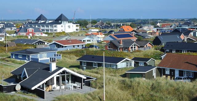 Sommerhuse i Søndervig