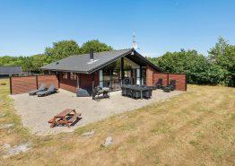 Geschmackvoll eingerichtetes Ferienhaus mit Whirlpool. Kat. nr.:  20110, Blomstervangen 60;
