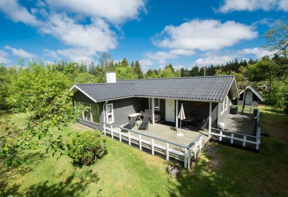 Gemütliches Ferienhaus mit Sauna und Kaminofen