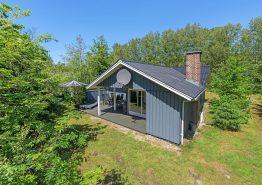 Gemütliches Holzhaus mit Sauna und Kamin (Bild 1)