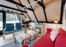 Charmerende stråtækt feriehus med sauna på idyllisk naturgrund (billede 3)