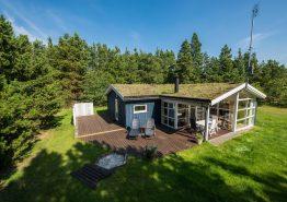 Lyst og rummeligt feriehus med sauna og spabad (billede 1)