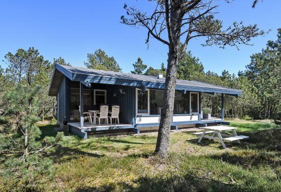 Anheimelndes  Ferienhaus auf einem ungestörten Naturgrundstück