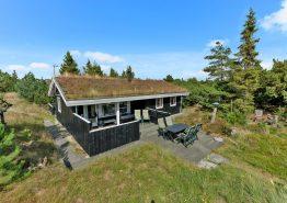 Traditionelles und gemütliches Sommerhaus mit Sauna