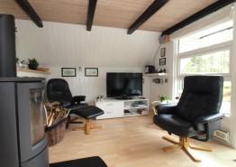 Gemütlich eingerichtetes Reetdachhaus in Houstrup (Bild 3)