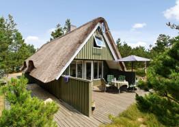 Gemütlich eingerichtetes Reetdachhaus in Houstrup. Kat. nr.:  30433, Hans Hansensvej 37;