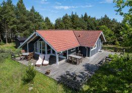 Hyggeligt spasommerhus med sauna og stor terrasse (billede 1)