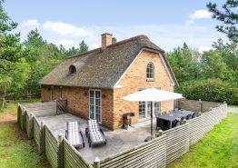 Lækkert stråtækt feriehus med 2 badeværelser (billede 1)