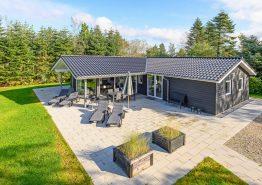Nybygget og stilrent luksushus med sauna, spa og aktivitetsrum (billede 1)