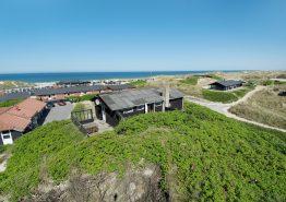 Ferienhaus mit Meerblick von der Terrasse. Kat. nr.:  40850, Fasanvej 22;