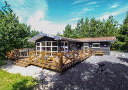 Gemütliches Ferienhaus mit Kaminofen auf herrlichem Naturgrundstück (Bild 1)