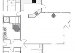 Gemütliches Ferienhaus für 6 Personen auf einem grossen Naturgrundstück (Bild 2)