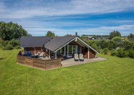 Hyggeligt feriehus i Henneby med sauna og spabad. Kat. nr.:  41913, Hennebysvej 42D