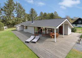 Gemütliches Ferienhaus mit Sauna mit herrlichem Aussenareal