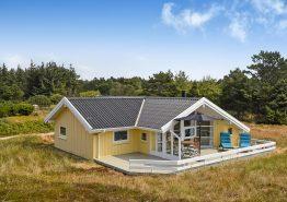 Herrliches helles Ferienhaus mit Sauna auf einem schönen Naturgrundstück (Bild 1)