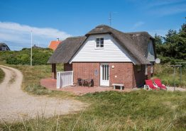 Gemütliches Reetdachhaus mit Kamin in toller Lage. Kat. nr.:  50391, Bjærgevej 2A;