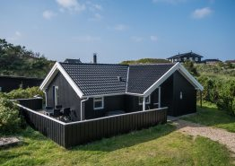 Hyggeligt familiehus med moderne indretning