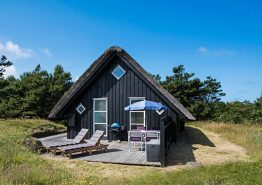 Helles und freundliches Sommerhaus mit toller strandnaher Lage. Kat. nr.:  52041, Lyngvej 16;