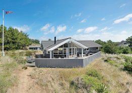 Schöne Ferienhaus, mit Sauna, Whirlpool, nah am Meer und mit Hund erlaubt. Kat. nr.:  52043, Lyngvej 18;