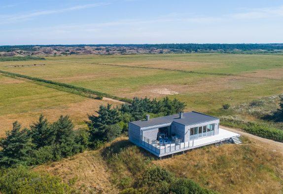 Einzigartiges Ferienhaus mit Meerblick in 1A Lage in Blåvand