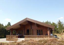5 Personen-Holzhaus mit Sauna. Kat. nr.:  60019, Østkrogen 4 B