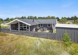 Gemütliches Ferienhaus mit Südwest-Terrasse, Sauna und Kamin. Kat. nr.:  60022, Søren Gades Mark 2;