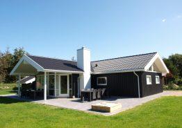 Luksussommerhus tæt på centrum med sauna, spa og aktivitetsrum. Kat. nr.:  60039, Vandflodvej 11;