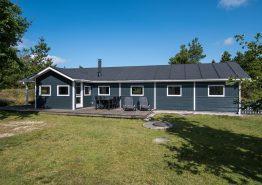 Modernes Ferienhaus mit Sauna, Whirlpool und Trampolin im Garten. Kat. nr.:  60064, Hedetoftvej 41B;