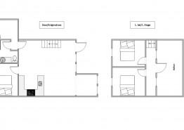 Schickes Ferienhaus für 6 Personen mit Tischfußball (Bild 2)
