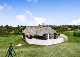 Schönes Reetdachhaus mit Whirlpool und Sauna