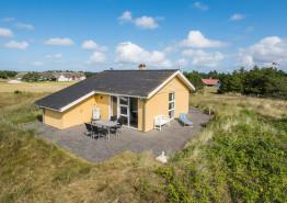 Ferienhaus mit gratis Internet und Kaminofen nur 200 m vom Strand entfernt