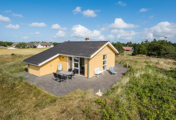 Ferienhaus mit gratis Internet, Kamin, nur 200 m vom Strand entfernt