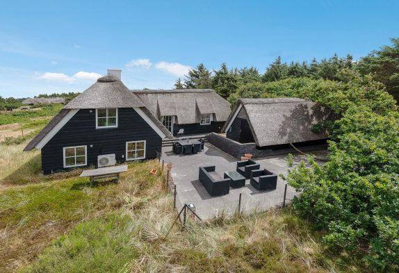 4-Sterne-Haus mit Sauna in Strandnähe