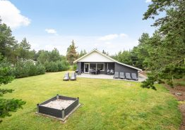 Ferienhaus in Blåvand mit Sauna und großer Rasenfläche (Bild 1)