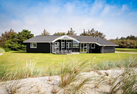 Nybygget 5-stjernet luksushus ved Blåvand strand