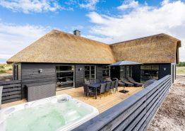 Luksuriøst sommerhus med pool og wellness tæt på stranden (billede 1)