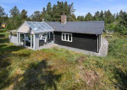 Gemütliches Ferienhaus mit Sauna auf herrlichem Naturgrundstück. Kat. nr.:  61012, Skovbrynet 7;