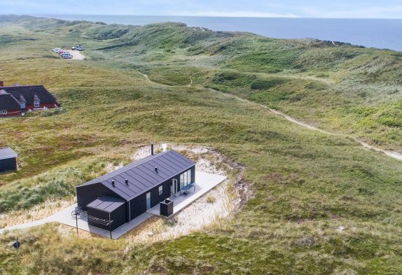 Qualitätshaus in fantastischer Lage mit Dünenblick und Außendusche