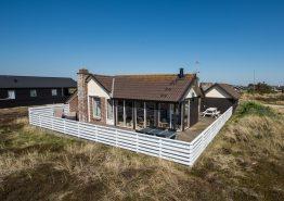 Ferienhaus mit Wärmepumpe/Klimaanlage in Bjerregård