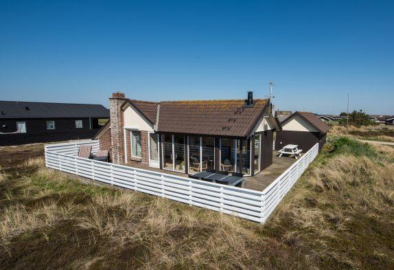 Sommerhus med varmepumpe/aircondition i Bjerregaard