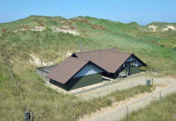 Kleines aber feines Ferienhaus an der ersten Dünenreihe