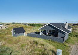 Helles Ferienhaus in Dänemark, nah am Meer & den Dünen