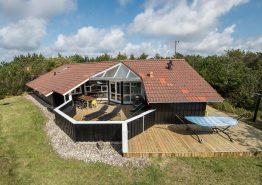 Luksusferiehus i Vestjylland med standvandsspa og sauna (billede 1)