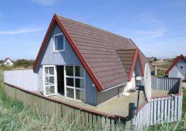 Velholdt og energivenligt feriehus med lukket terrasse. Kat. nr.:  B2518, Nygårdsvej 18;