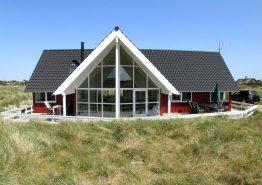 Schickes Nichtraucher-Ferienhaus mit schöner Aussicht. Kat. nr.:  B2536, Risbusken 4;