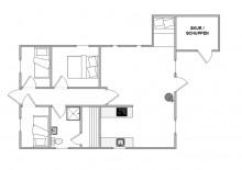 Gemütliches Ferienhaus für 4 Personen mit Sauna (Bild 2)