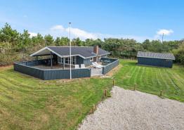 Gemütliches Ferienhaus mit geschlossener Terrasse