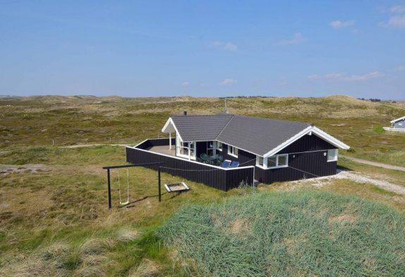 Schönes Ferienhaus in guter Lage dicht am Strand
