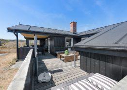 Gemütliches Ferienhaus mit Kaminofen in strandnaher Lage (Bild 1)