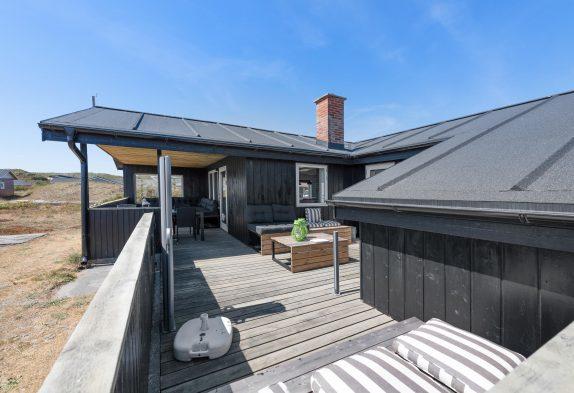 6 personers feriehus i Bjerregård med kun 250 meter til stranden